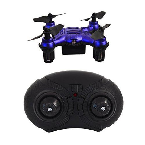Hover-Way 6 Axis 2.4 GHZ Aerial Micro Drone with Built In Battery- Pocket Size Red