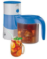 Mr. Coffee 3-Quart Iced Tea and Coffee Maker, Blue/Teal