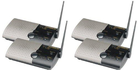 "4-Room Wireless Intercom System for Home or Office by ""International Electronics, Inc."""