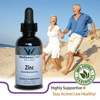 Zinc - Premium Liquid Ionic Mineral Immune Support(100 days at 15 mg Per 10 Drop Serving) 50 ml Bottle