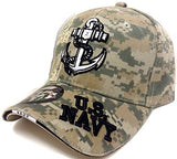 Anchor United States Navy 3D Embroidered Baseball Cap Hat