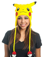 bioWorld Pokemon Pikachu Laplander Fleece Beanie Cap with Ears