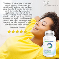 #1 FORMULA Zenphorol® Stress and Anxiety Relief | Reduces Symptoms of Depression and Panic Attacks. Boost Mood, Aid Restful Sleep, Promotes Physical and Mental Well-Being |...