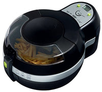 T-fal ActiFry Air Fryer with Air Fryer Cookbook, Ceramic Nonstick Pan, Dishwasher Safe, 2.2-Pound, Black, Model FZ7002
