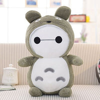 "AWG Cute 12"" Normal Baymax Totoro Hoodie Jacket Plush Doll Toy Kawaii Gift"