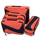 6 Set Packing Cubes - 3 Various Sizes Luggage Packing Organizers For Travel