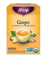 Yogi Tea, Ginger, 16 Count, Packaging May Vary
