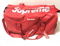 Supreme Style Duffel Bag Travel Waterproof Unisex Messenger Supreme Print w/Shoe pocket