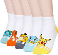 Dani's Choice Famous Japanese Animation Print Crew Socks