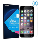 Apple iPhone 5/5C/5S Ultra Tempered Glass Screen Protector | Ballistic Slim Anti Scratch Shield w/ Full HD Clarity | Better Cell Phone Accessories by InvisiShell
