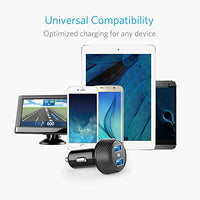 Anker 24W Car Charger 2-Port 4.8A Ultra-Compact PowerDrive 2 Elite with PowerIQ Technology for iPhone X / 8 / 7 / 6s / Plus, iPad Pro / Air / mini, Galaxy Note / S Series, LG, Nexus, HTC and More