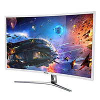 "VIOTEK NB27C 27"" LED CURVED COMPUTER MONITOR - 1920 x 1080p monitor with 60hz refresh rate."