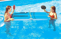 Floating Ping-Pong Table Swimming Pool Game - Use In or Out of the Pool