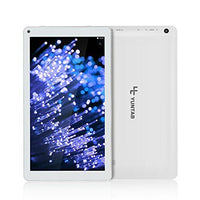 Yuntab D102 10.1 inch Android 6.0 Tablet PC Allwinner A33 Quad Core 1GB / 8GB 1024 x 600 TFT LCD 5500 mAh Dual Camera WIFI Bluetooth (White)