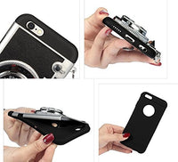 2016 New Cool 3D Vintage Camera Phone Case Korean Style Fashion Luxury New Brand Funda Plastic Camera Cover For Apple iPhone 6Plus/6s Plus 5.5 inch (white)