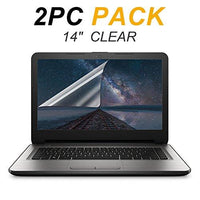 [2PCS PACK] 15.6-inch Laptop Crystal Clear Screen Protector, FORITO Notebook Computer Screen Guard Protector for HP/DELL/Asus/Acer/Sony/Samsung/Lenovo/Toshiba etc, Display 16:9 (2-Pieces/Pack)