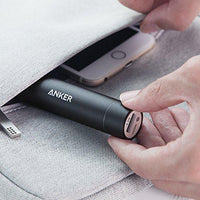 Anker PowerCore+ mini, 3350mAh Lipstick-Sized Portable Charger (3rd Generation, Premium Aluminum Power Bank), One of the Most Compact External Batteries