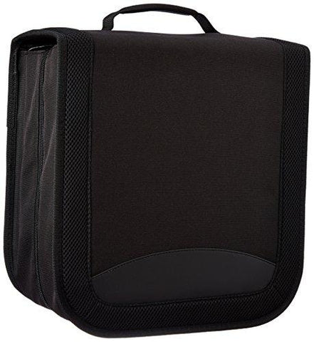 AmazonBasics Nylon CD/DVD Wallet (128 Capacity)