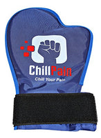 Cold Therapy Reusable Ice Pack Glove For Sore Hands By ChillPain. ChillPain Ice Pack Gloves are Exclusively Designed for Women and Men With Small to Medium Size hands (1 Glove)