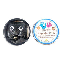 INWISH Magnetic Putty, Magnetic Slime Super Silly Smart Space Puddy Toy, Christmas Stocking Filler, Black