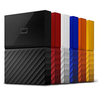 WD 2TB Black My Passport  Portable External Hard Drive - USB 3.0 - WDBYFT0020BBK-WESN