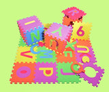 Alphabet Puzzle ABC Play Mat 26 Tiles EVA Foam Kids Rainbow Floor by Poco Divo