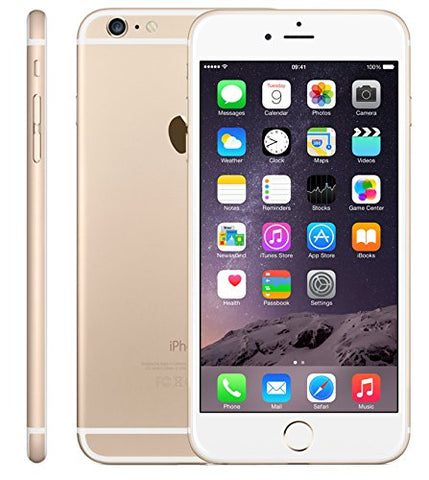 Apple iPhone 6 Plus, GSM Unlocked, 128GB - Gold (Certified Refurbished)