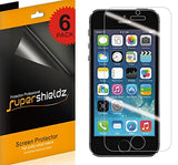 [6-Pack] Supershieldz for iPhone SE / 5S / 5C / 5 Anti-Glare & Anti-Fingerprint (Matte) Screen Protector Saver + Lifetime Replacements Warranty - Retail Packaging