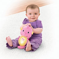 Fisher-Price Soothe and Glow Seahorse Blue/Pink