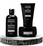 All-In-One Essential Skincare Set For Men - Grooming Kit - Age + Damage Defense Facial Moisturizer - Daily Power Scrub Cleanser - Detox Mineral Clay Facial Mask - Natural &...