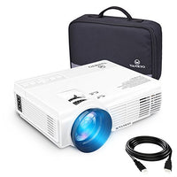 vankyo LEISURE 3 (Upgraded Version) 2200 LUX LED Portable Projector with Carrying Bag, Video Projector with 170'' and 1080P Support, Compatible with Fire TV Stick, PS4, HDMI, VGA, TF, AV and USB