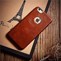 #1 Rated Leather Apple iPhone 6 / 6S case 4.7 inch, [Classic Vintage Series] Real Genuine Luxury Protective Back Cover [Ultra Slim] icarercase(Brown)