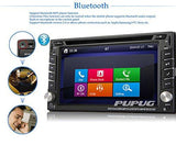 Backup Camera Windows 8 6.2'' HD GPS Navigation 2 Din Car Stereo DVD Player In dash Radio Bluetooth USB SD AUX iPod MP3 PC