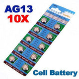 10 x AG13 LR44 G13-A D303 L1154 L1154F Alkaline Button Cell Battery by MarbellStore