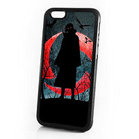 ( For iPhone 7 Plus ) Phone Case Back Cover HOT2091 Naruto Sasuke