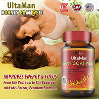 #1 Best Premium HORNY GOAT WEED Extract + Maca Root - Used by Men & Women for Centuries - Increases Sex Drive & Desire + Boosts Energy & Combats Menopause + PMS - REAL...