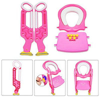 [FDA Certified] Ostrich Toilet Step Trainer Ladder for Kid and Baby, Children's Toilet Seat Chair, Toddlers Toilet...