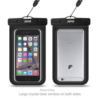 Universal Waterproof Case, JOTO Cellphone Dry Bag Pouch for iPhone X, 8/7/7 Plus/6S/6/6S Plus, Samsung Galaxy S9/S9 Plus/S8/S8 Plus/Note 8 6 5 4, Google Pixel 2 HTC LG Sony MOTO up to 6.0""
