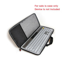 For Logitech Wireless Solar Desktop Keyboard K750 Hard EVA Travel Storage Carrying Case Cover Bag by Hermitshell