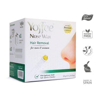 Yoffee Nose Wax Hair Removal with Natural Beeswax Formula. Safe, Quick and Painless 50g