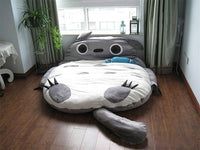Totoro Double Bed Sleeping Bag Pad Sofa Bed Mattress for both kids Or Adult