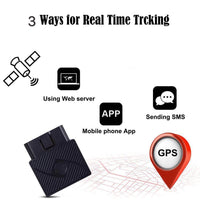 OBD GPS Tracker, Willaire No Monthly Fee Real Time Locator GSM/GPRS Vehicle Tracker with Free App's Contracts for Tracking Vehicles