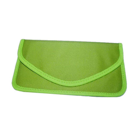 Anti-radiation Bag Pouch Radiation Interferen Shield Bag for iphone Cell Phone No Singal Shielding Bag (green)