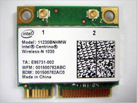 Intel 1030 11230bn HMW 11230bnhmw Half Mini Pcie Wireless Wlan Wifi + Bt Bluetooth Card Module 802.11n