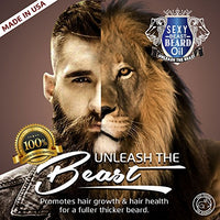 #1 BEST Beard Oil For Men, Proprietary 9 Oil Blend Stimulates Facial Hair + Beard & Mustache Growth + Repairs Frizzy Hair + Eliminates Dry Itchy Skin For A Thicker Fuller Sexy...