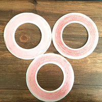 3pcs/lot mix size red 1mm 2mm 3mm Scotch 3M Double Sided Tape Phone LCD Screen for iPhone iPad 1 iPad 2 iPad 3 iPad 4