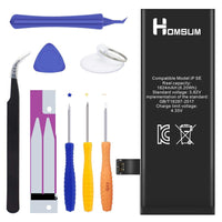 HOMSUM Repleacement Battery for iPhone 6, with Complete Repair Tool Kits, Glue Adhesive & Instructions - Full 1810 mAh 0 Cycle [ 2-Year Warranty]