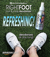 #1 Most Effective Foot and Shoe Deodorant Spray - All Natural and 100% Safe For All Shoes & Feet - Fresh Peppermint & Tea Tree Deodorizer Destroys Odor & Bacteria...