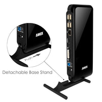 Anker Dual Display Universal Docking Station with DVI/HDMI (up to 2048 x 1152)