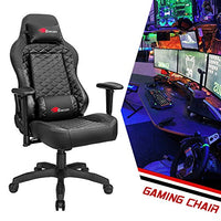 Homall Executive Swivel Leather Gaming Chair, Racing Style High-back Office Chair With Lumbar Support and Headrest